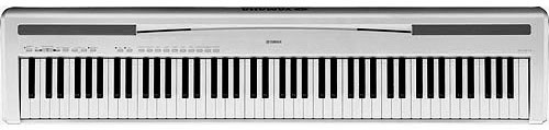 Yamaha p 85 silver featured pianos and keyboards for Yamaha p85 contemporary digital piano